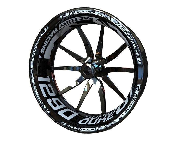 KTM 1290 Super Duke GT Wheel Stickers kit - Plus Design