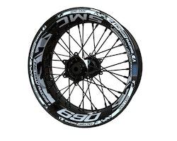 KTM 690 SMC Wheel Stickers kit - Plus Design
