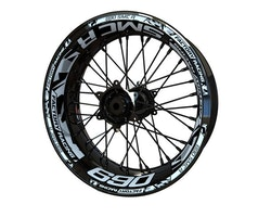 KTM 690 SMC R Wheel Stickers kit - Plus Design