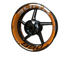 KTM 990 Duke Wheel Stickers kit - Premium Design