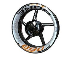 KTM 890 Duke Wheel Stickers kit - Premium Design