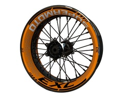 "KTM EXC 17"" Wheel Stickers kit - Premium Design"