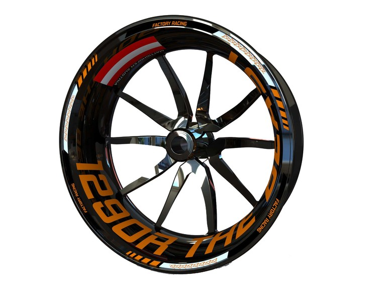 KTM 1290 Super Duke R Beast Wheel Stickers kit - Standard Design