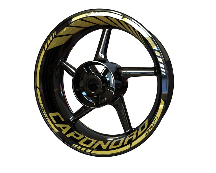 Aprilia Caponord Wheel Stickers Standard (Front & Rear - Both Sides Included)