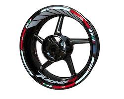 Aprilia Tuono V4 Wheel Stickers kit - Standard Design