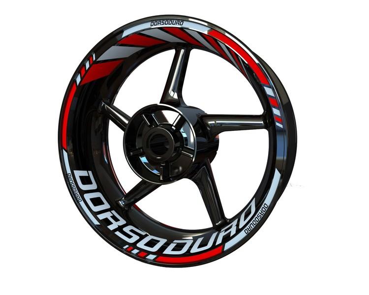 Aprilia Dorsoduro Wheel Stickers Standard (Front & Rear - Both Sides Included)