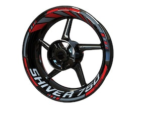 Aprilia Shiver 750 Wheel Stickers Standard (Front & Rear - Both Sides Included)