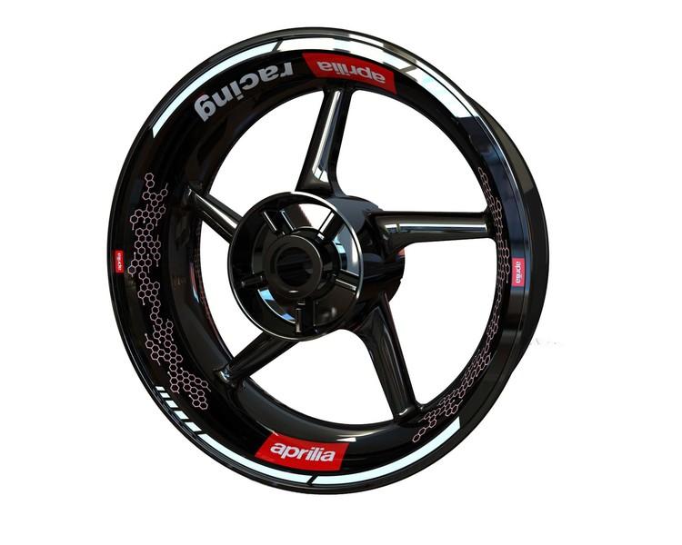 Aprilia Wheel Stickers kit - Premium Design