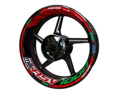 Aprilia RSV1000 MILLE Wheel Stickers kit - Standard Design