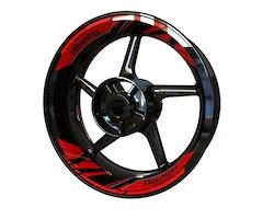 Triumph Wheel Stickers kit - 2-Piece Design (Double swingarm)