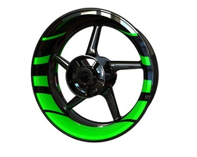 Rim Stickers Premium - Stripes