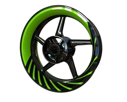 Twisted Spinners Wheel Stickers kit - Premium Design