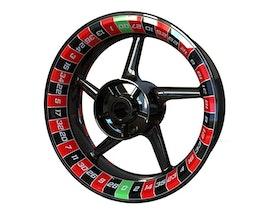 Adesivi per cerchioni Premium - Ruota della roulette