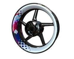 Spades Wheel Stickers kit - Premium Design