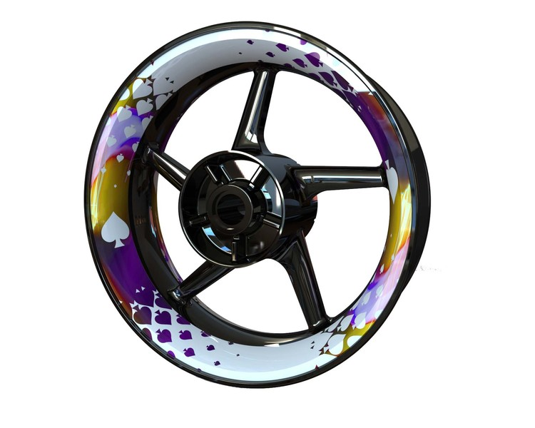 Spades Wheel Graphics Premium (Front & Rear - Both Sides Included)