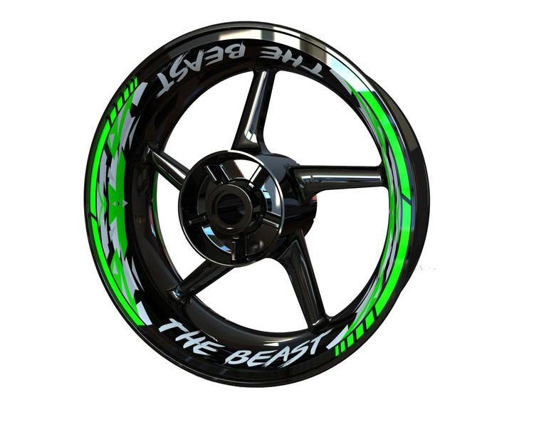 THE BEAST Wheel Stickers kit - Premium Design
