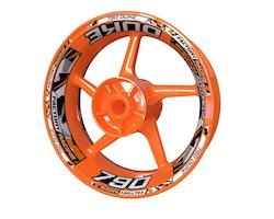 KTM 790 Duke Wheel Stickers kit - Plus Design