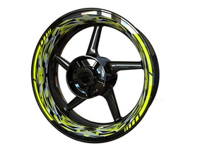 CAMO Wheel Graphics Premium (Front & Rear - Both Sides Included)