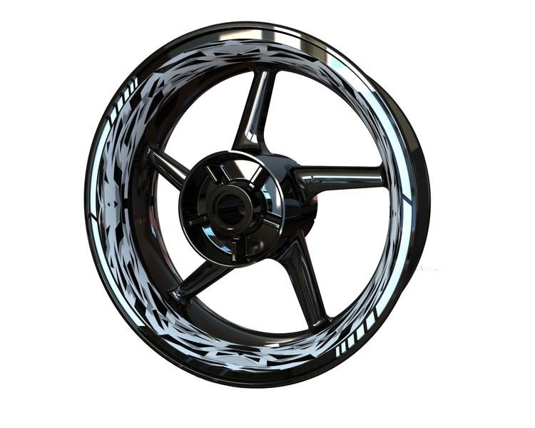 CAMO Wheel Stickers kit - Premium Design