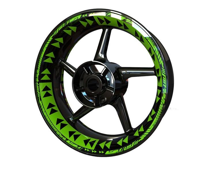Psychosis Wheel Stickers kit - Premium Design