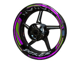 JOKER HAHAH Wheel Stickers Plus (Front & Rear - Both Sides Included)