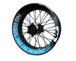 8-Ball Wheel Stickers kit - Premium Design