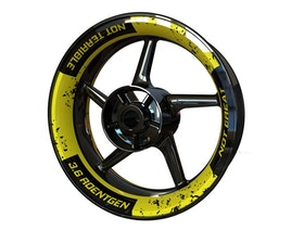 Chernobyl Edition Wheel Graphics Premium (Front & Rear - Both Sides Included)