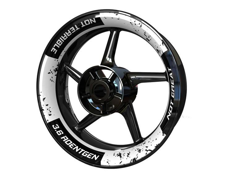 Chernobyl Edition Wheel Stickers kit - Premium Design