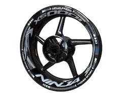 Kawasaki Ninja 1000SX Wheel Stickers kit - Plus Design