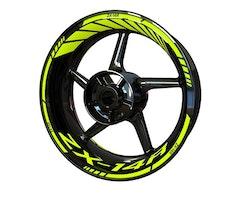 Kawasaki ZX-14R Wheel Stickers kit - Standard Design