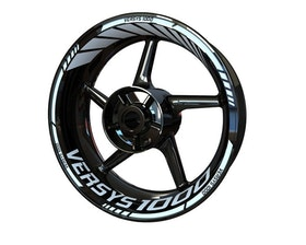 Versys 1000 Wheel Stickers Standard (Front & Rear - Both Sides Included)