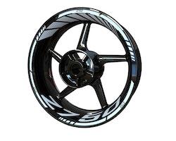 Kawasaki Z750 Wheel Stickers kit - Standard Design