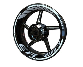 Kawasaki ER-6n Wheel Stickers Standard