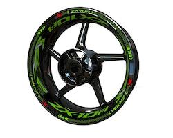 Kawasaki ZX-10R Wheel Stickers kit - Plus Design
