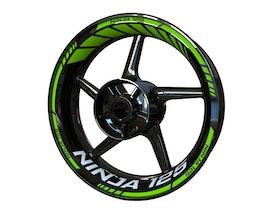 Ninja 125 Wheel Stickers Standard