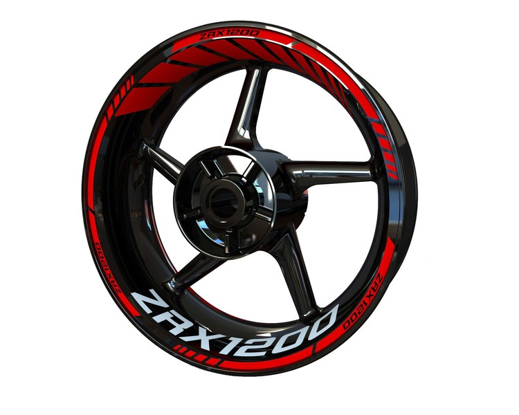 ZRX 1200 Wheel Stickers Standard