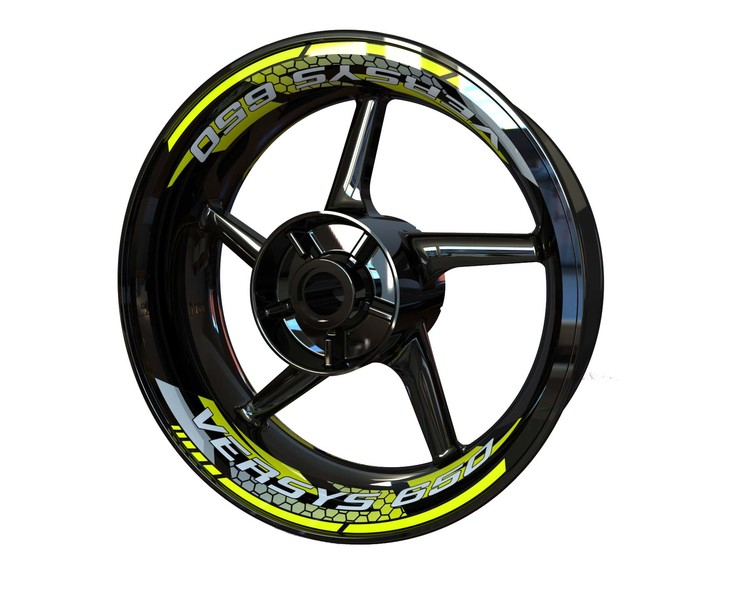 VERSYS 650 Rim Stickers 2-piece (Front & Rear - Both Sides Included)