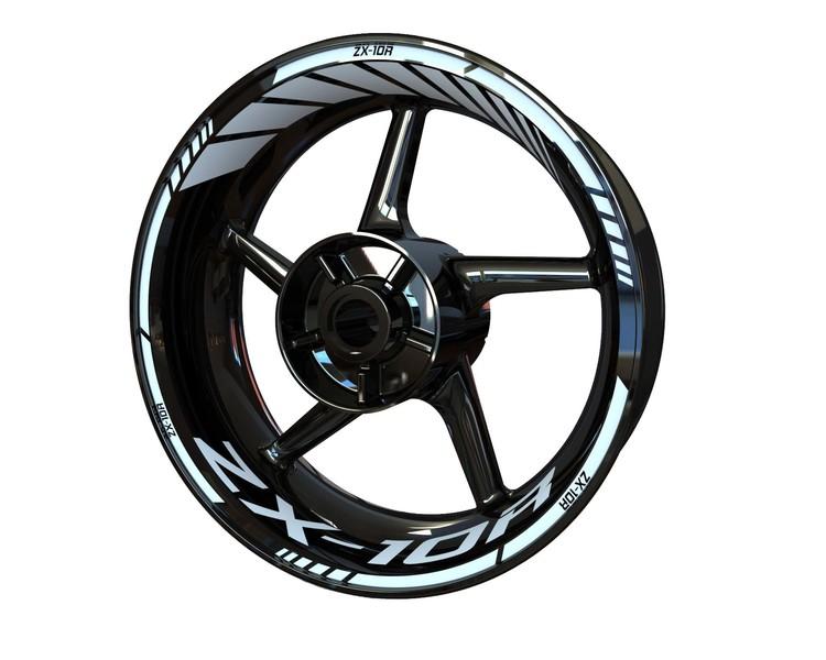 Kawasaki ZX-10R Wheel Stickers kit - Standard Design