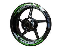 Kawasaki Z1000SX Wheel Stickers kit - 2-Piece Design