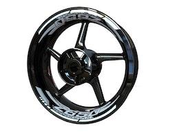 Kawasaki Z650 Wheel Stickers kit - 2-Piece Design