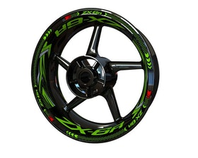 Rim Stickers Plus - Kawasaki ZX-6R