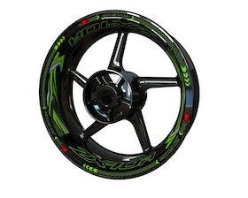 Kawasaki ZX-10R Wheel Stickers Plus V2 (Front & Rear - Both Sides Included)