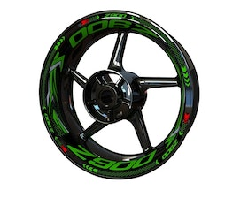 Kawasaki Z900 Wheel Stickers Plus (Front & Rear - Both Sides Included)