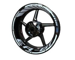 Kawasaki ER-6f Wheel Stickers kit - Standard Design