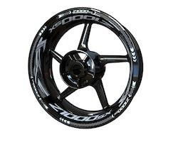 Kawasaki Z1000SX Wheel Stickers kit - Plus Design