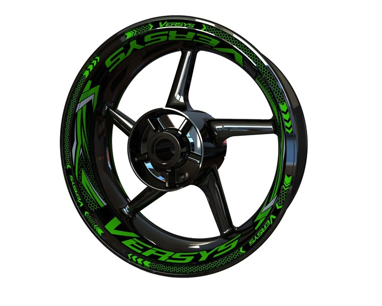Versys Wheel Stickers Plus (Front & Rear - Both Sides Included)