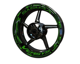 Kawasaki Versys Wheel Stickers Plus (Front & Rear - Both Sides Included)