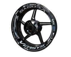 Kawasaki Versys Wheel Stickers kit - Plus Design