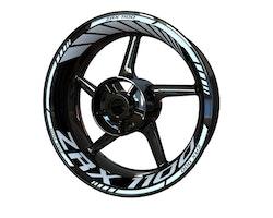 Kawasaki ZRX 1100 Wheel Stickers kit - Standard Design
