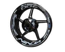 Kawasaki Ninja 400 Wheel Stickers kit - Plus Design